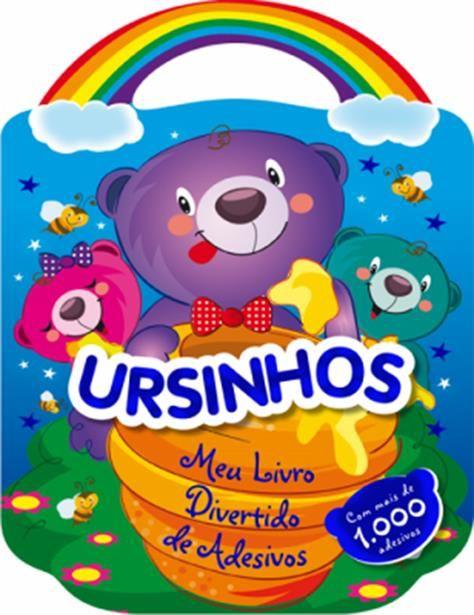Ursinhos - Coleção Meu Livro Divertido de Adesivos