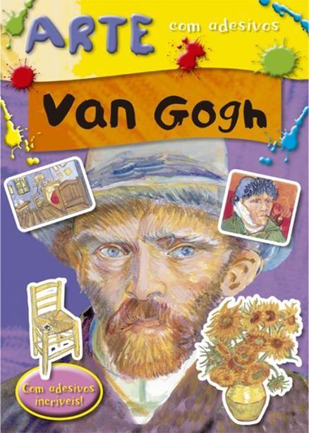 Van Gogh - Coleção Arte com Adesivos - Com Adesivos Incríveis