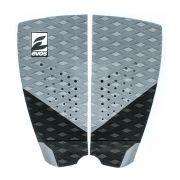 Deck Pad Antiderrapante Evos para Prancha de Surfe Dark Series Cinza e Preto