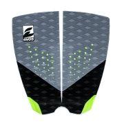 Deck Pad Antiderrapante Evos para Prancha de Surfe Dark Series Cinza e Verde
