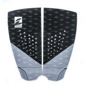 Deck Pad Antiderrapante Evos para Prancha de Surfe Dark Series Preto e Cinza