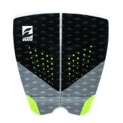 Deck Pad Antiderrapante Evos para Prancha de Surfe Dark Series Preto e Verde
