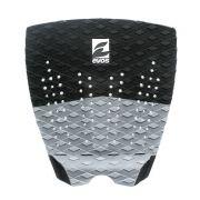Deck Pad Antiderrapante Evos para Prancha de Surfe Solid Series Preto e Cinza