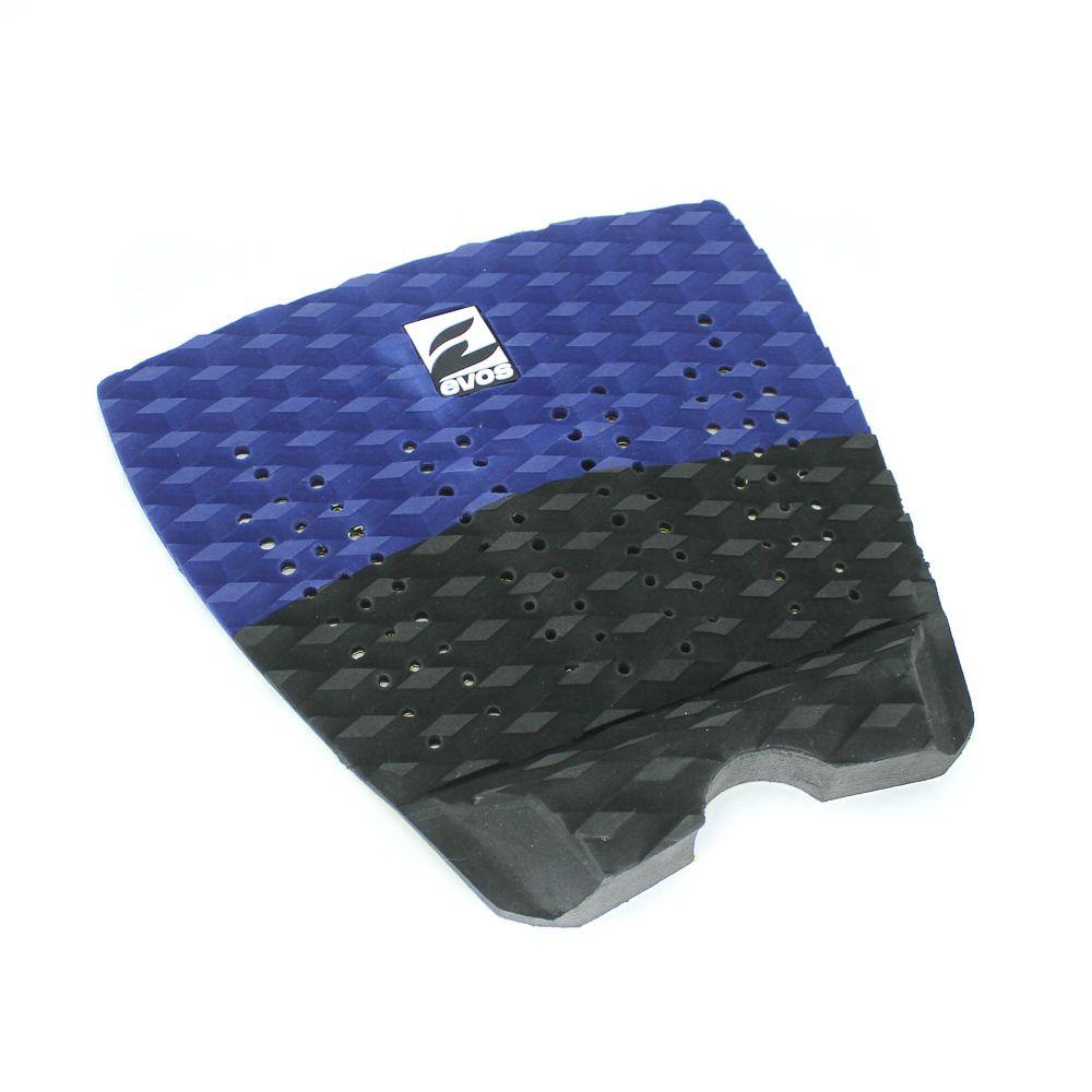 Deck Pad Antiderrapante Evos para Prancha de Surfe Solid Series Azul Marinho e Preto
