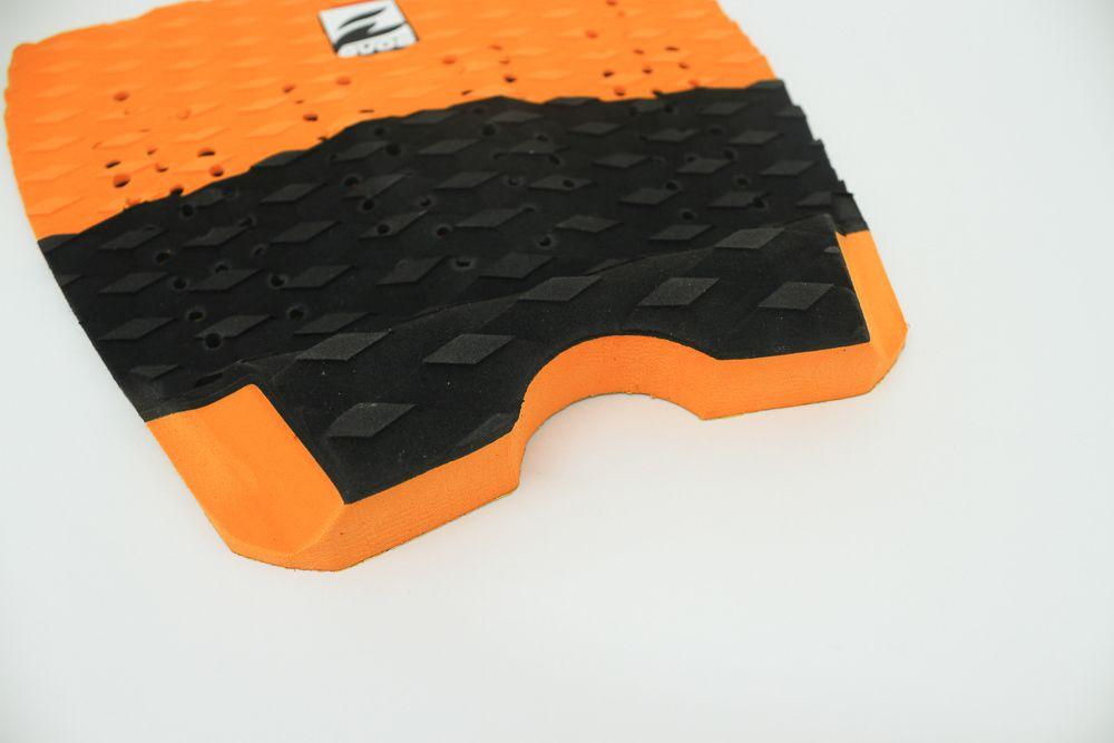 Deck Pad Antiderrapante Evos para Prancha de Surfe Solid Series Laranja e Preto