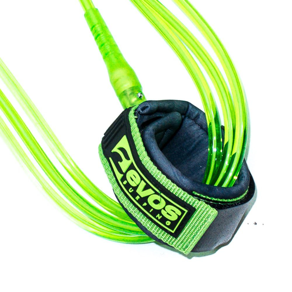 Leash Evos para Prancha de Surf Stand Up Paddle 10 pés x 8mm  Verde