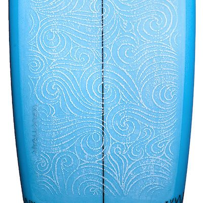 Película Adesiva de Aderência WAXTRAK para Prancha de Surfe modelo Swell
