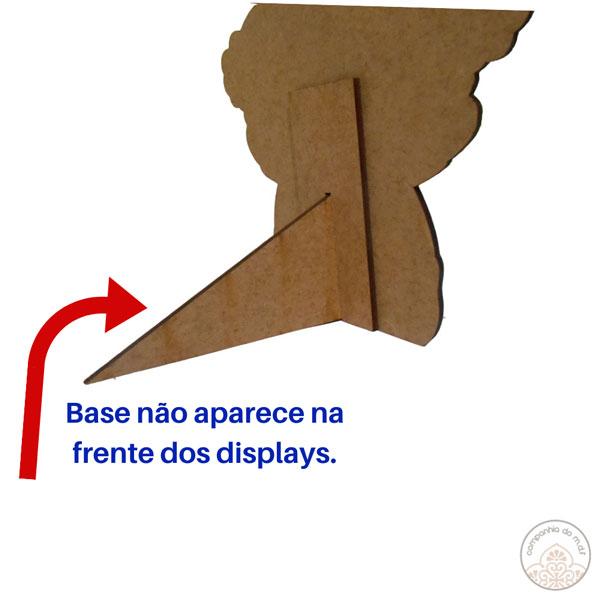 Kit festa Urso Marinheiro com painel e displays de mesa