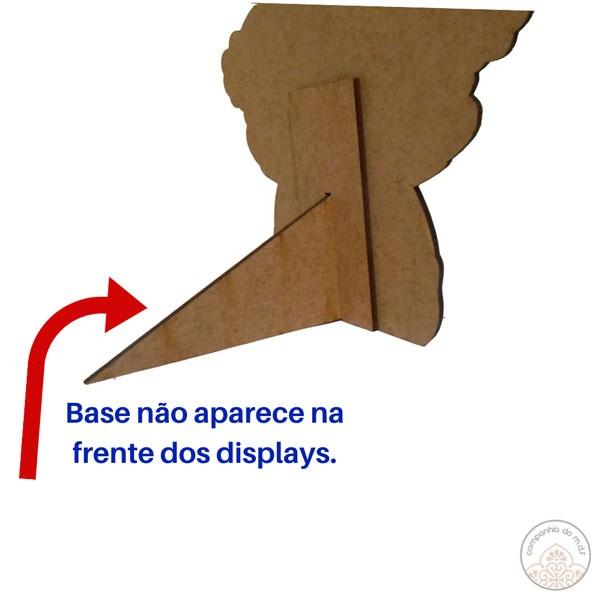 Kit festa Urso Príncipe com displays de mesa e painel poli banner