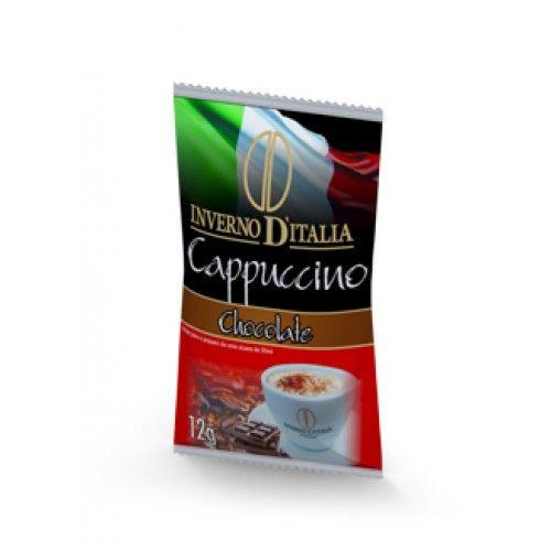 CAPPUCCINO CHOCOLATE 12 GR COM 50 SAQUINHOS