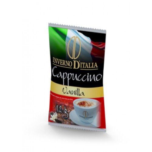 CAPPUCCINO VANILLA 12 GR COM 50 SAQUINHOS