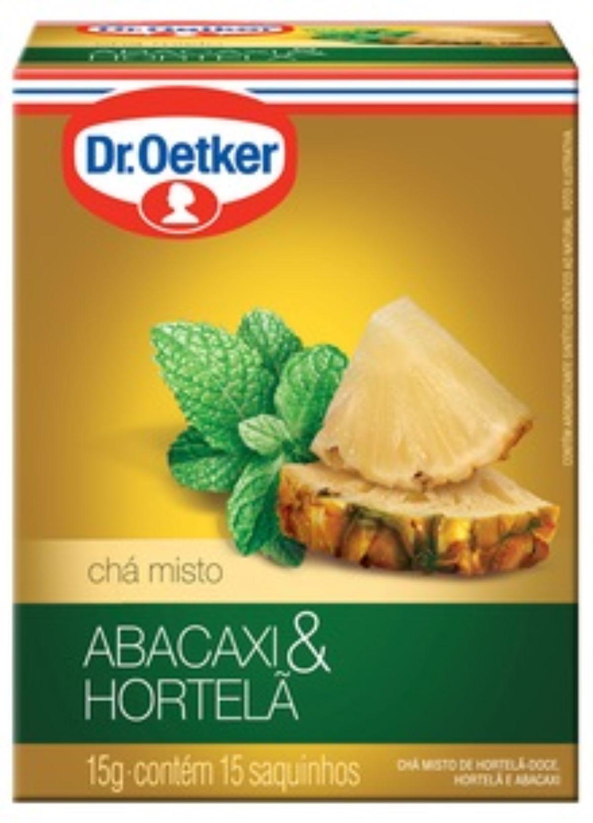 CHÁ ABACAXI COM HORTELÃ DR. OETKER