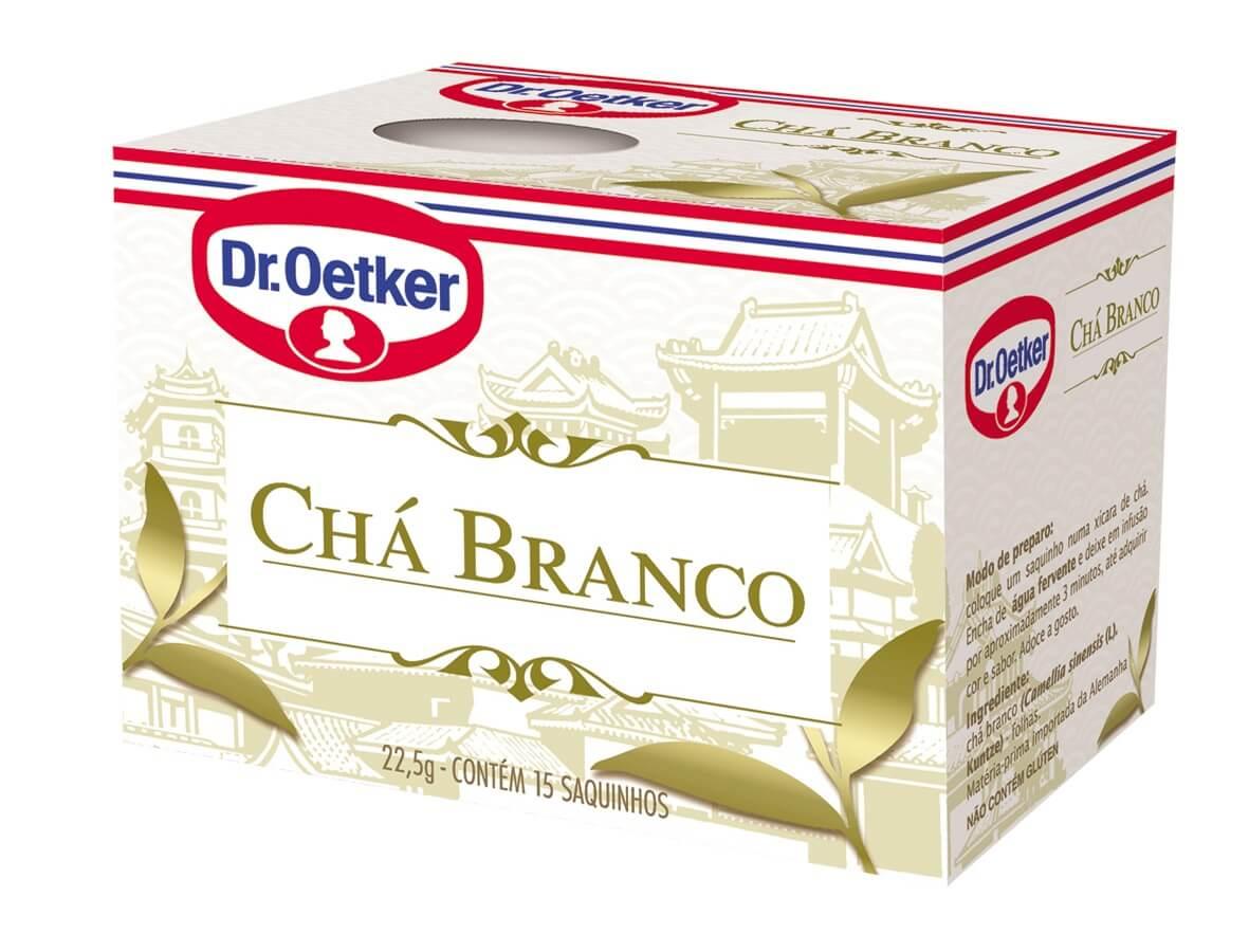 CHÁ BRANCO DR. OETKER - KIT COM 4 CAIXAS