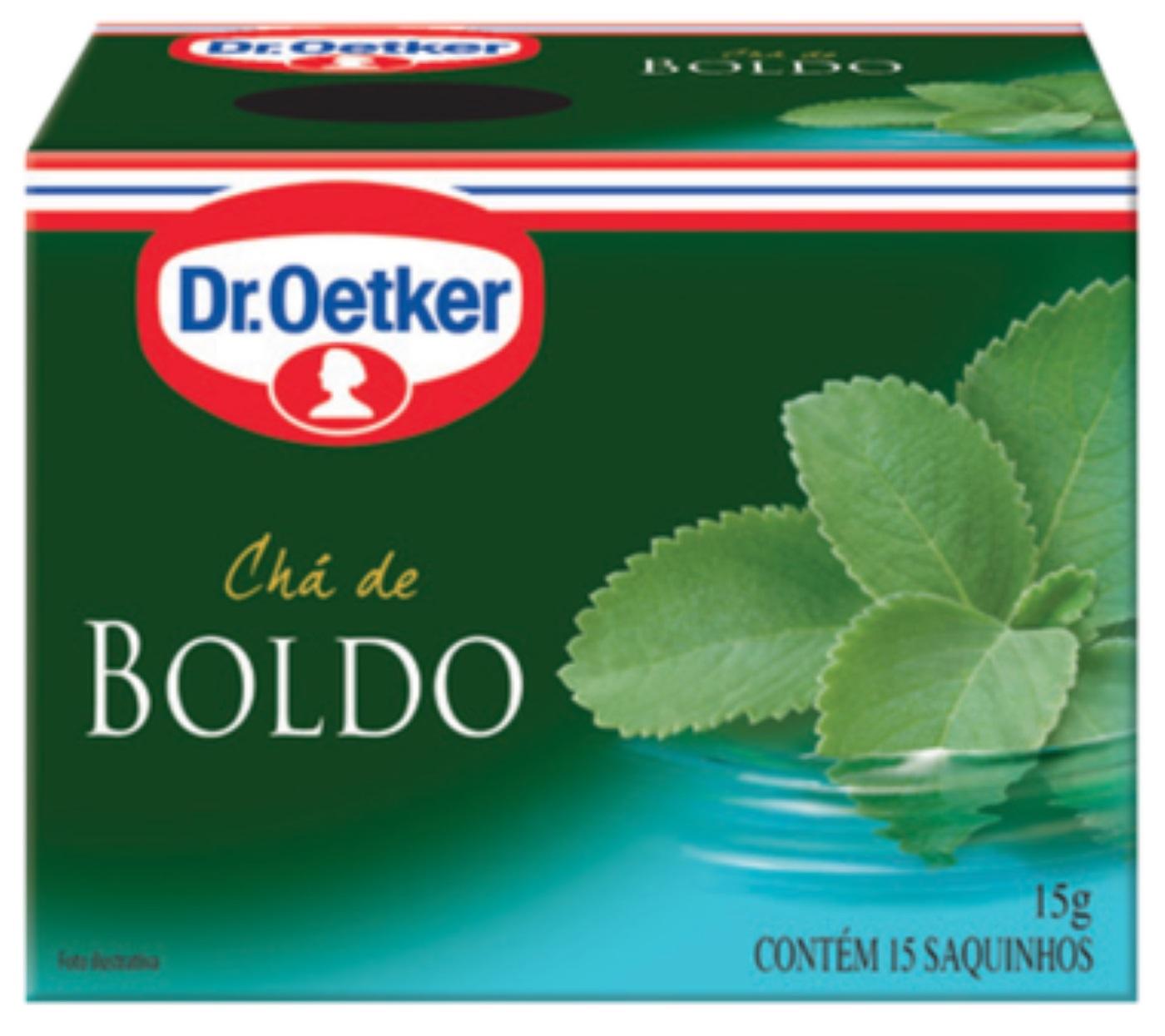 CHÁ DE BOLDO DR. OETKER KIT COM 2 CAIXAS