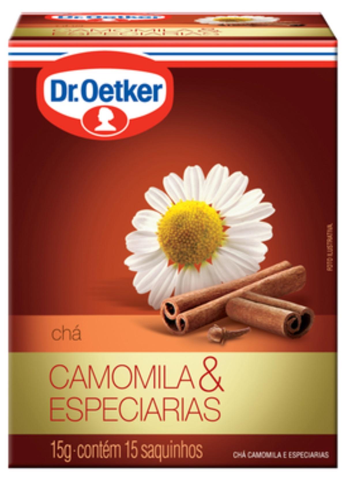 CHÁ DE CAMOMILA COM ESPECIARIAS - DR. OETKER