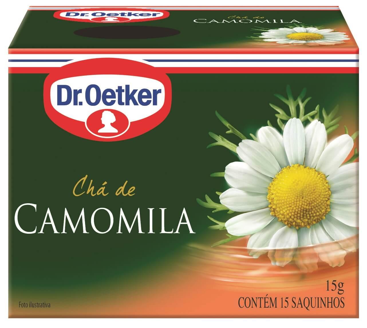 CHÁ DE CAMOMILA - DR. OETKER - KIT COM 2 CAIXAS