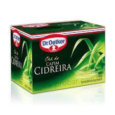 CHÁ DE CAPIM CIDREIRA - DR. OETKER
