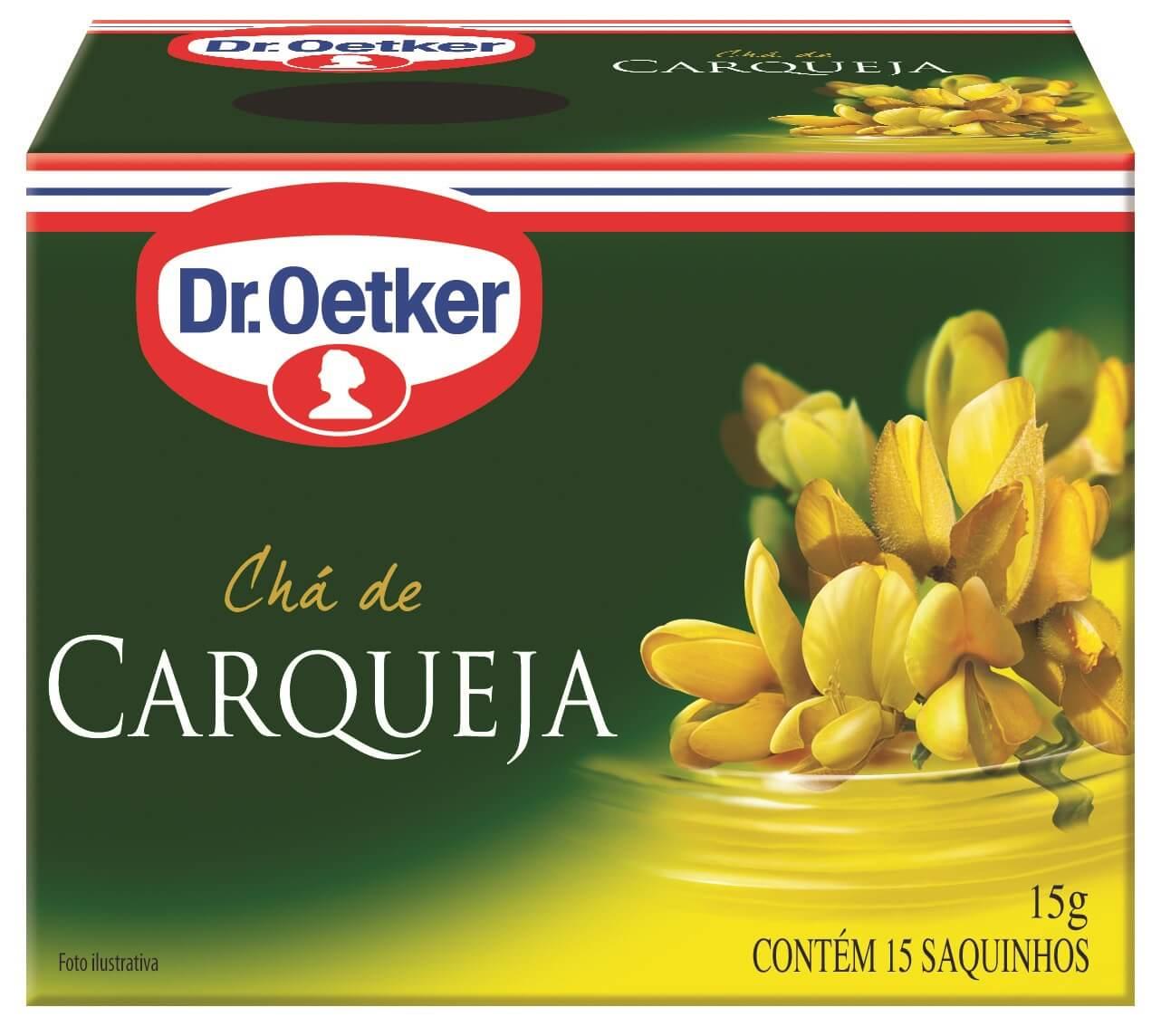 CHÁ DE CARQUEJA  - DR. OETKER - KIT 4 CAIXAS