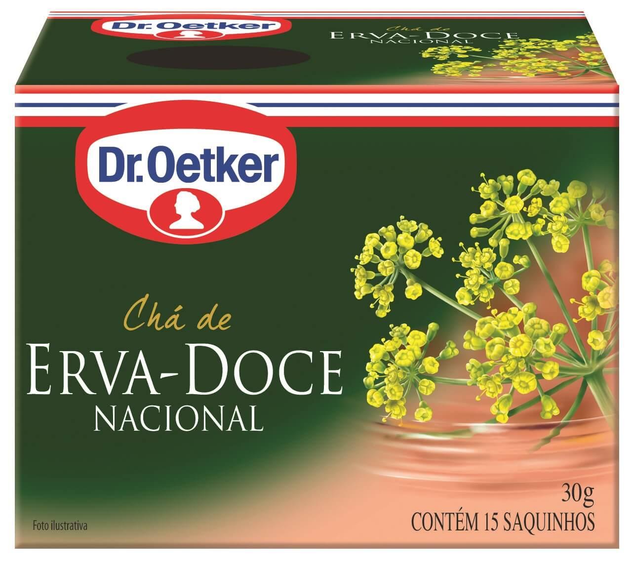 CHÁ DE ERVA DOCE - DR. OETKER