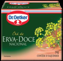 CHÁ DE ERVA DOCE DR. OETKER
