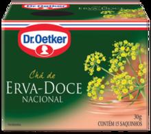 CHÁ DE ERVA DOCE DR. OETKER KIT COM 4 CAIXAS