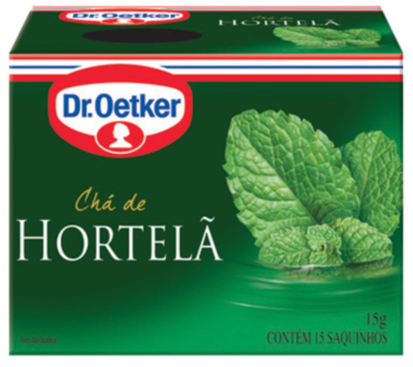 CHÁ DE HORTELÃ DR. OETKER KIT C/ 4 UNIDADES