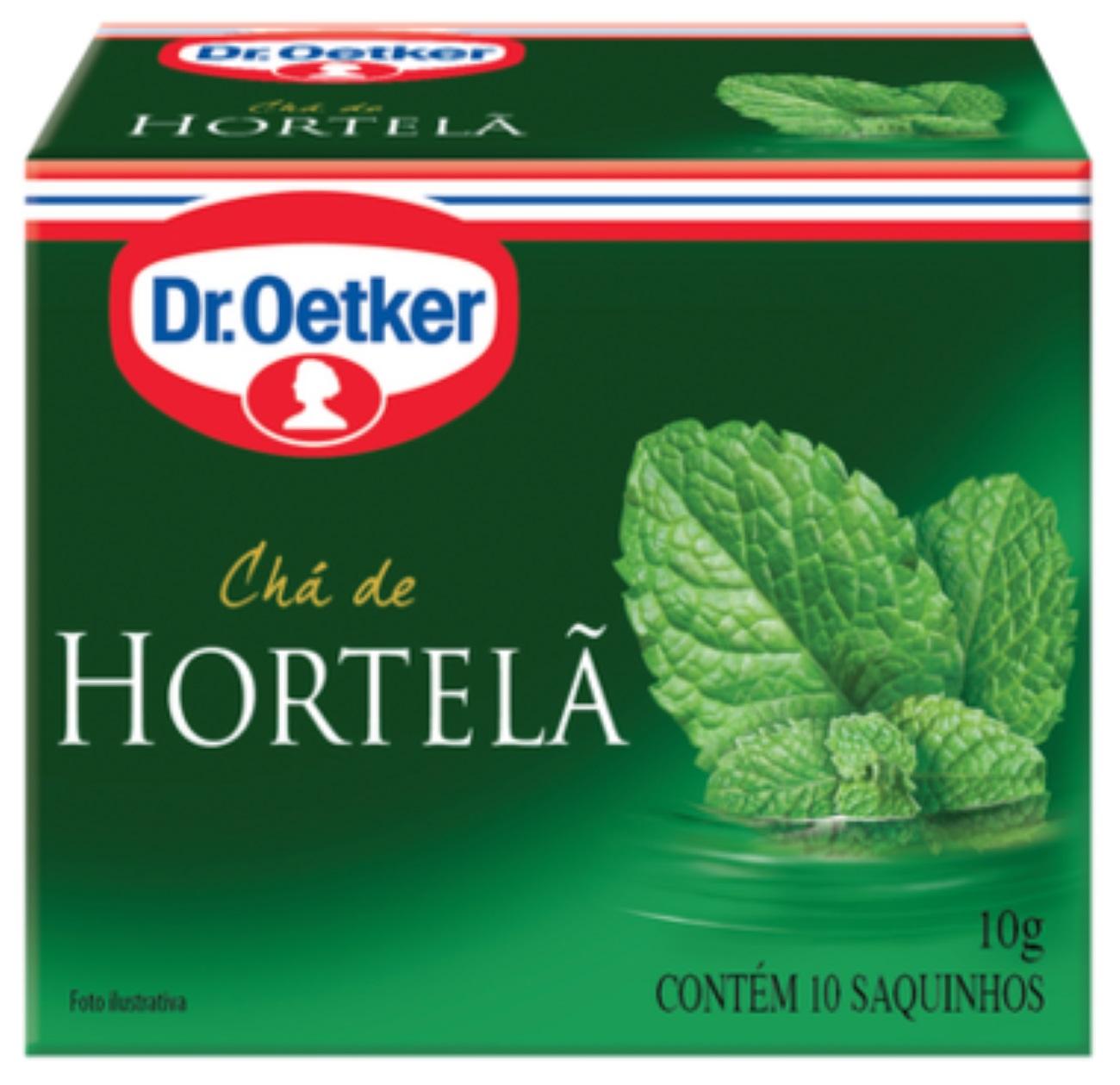 CHÁ DE HORTELÃ DR. OETKER KIT COM 04 CAIXAS