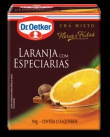 CHÁ DE LARANJA COM ESPECIARIAS DR. OETKER
