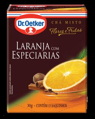 CHÁ DE LARANJA COM ESPECIARIAS DR. OETKER KIT COM 4 CAIXAS