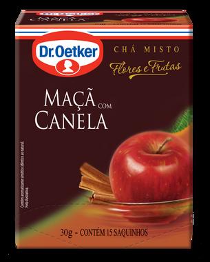 CHÁ DE MAÇÃ COM CANELA DR. OETKER KIT COM 4 CAIXAS