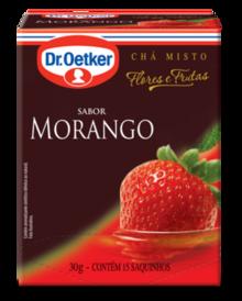 CHÁ DE MORANGO DR. OETKER