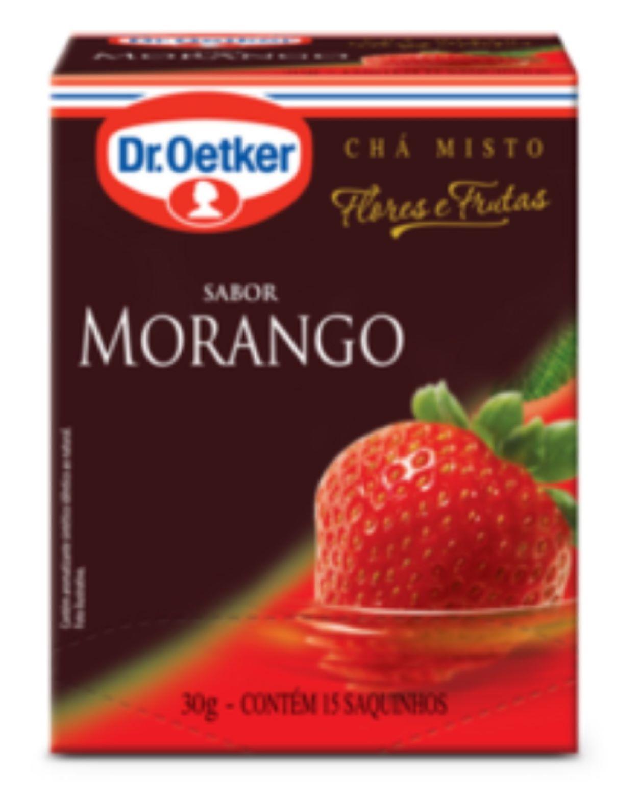 CHÁ DE MORANGO DR. OETKER KIT COM 2 CAIXAS