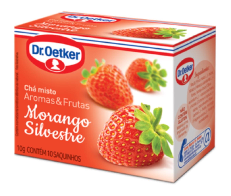 CHÁ DE MORANGO SILVESTRE - DR OETKER