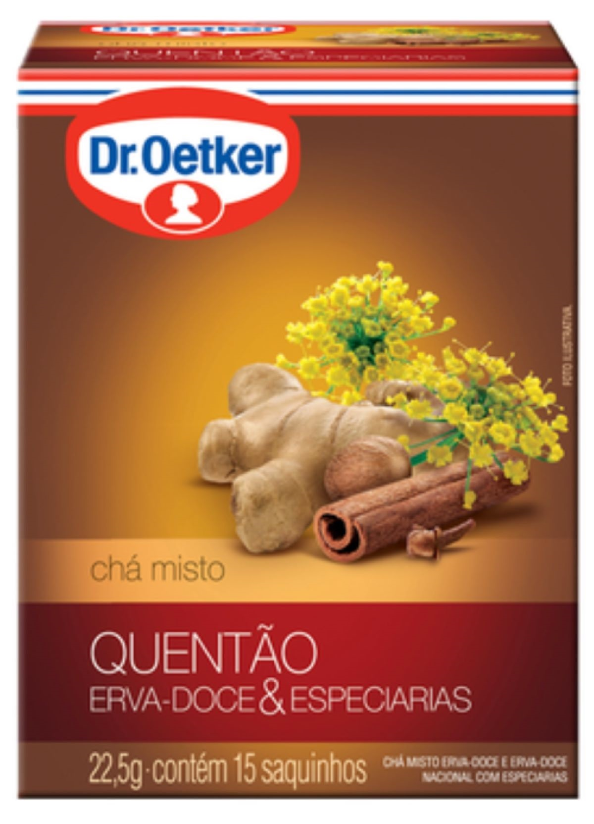 CHÁ DE QUENTÃO KIT COM 04 CAIXAS - DR. OETKER