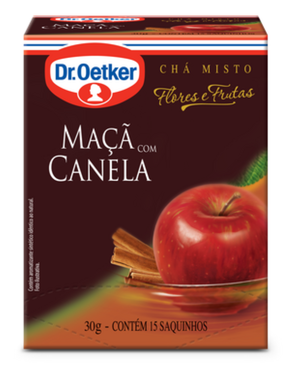 CHÁ MAÇÃ E CANELA - DR OETKER