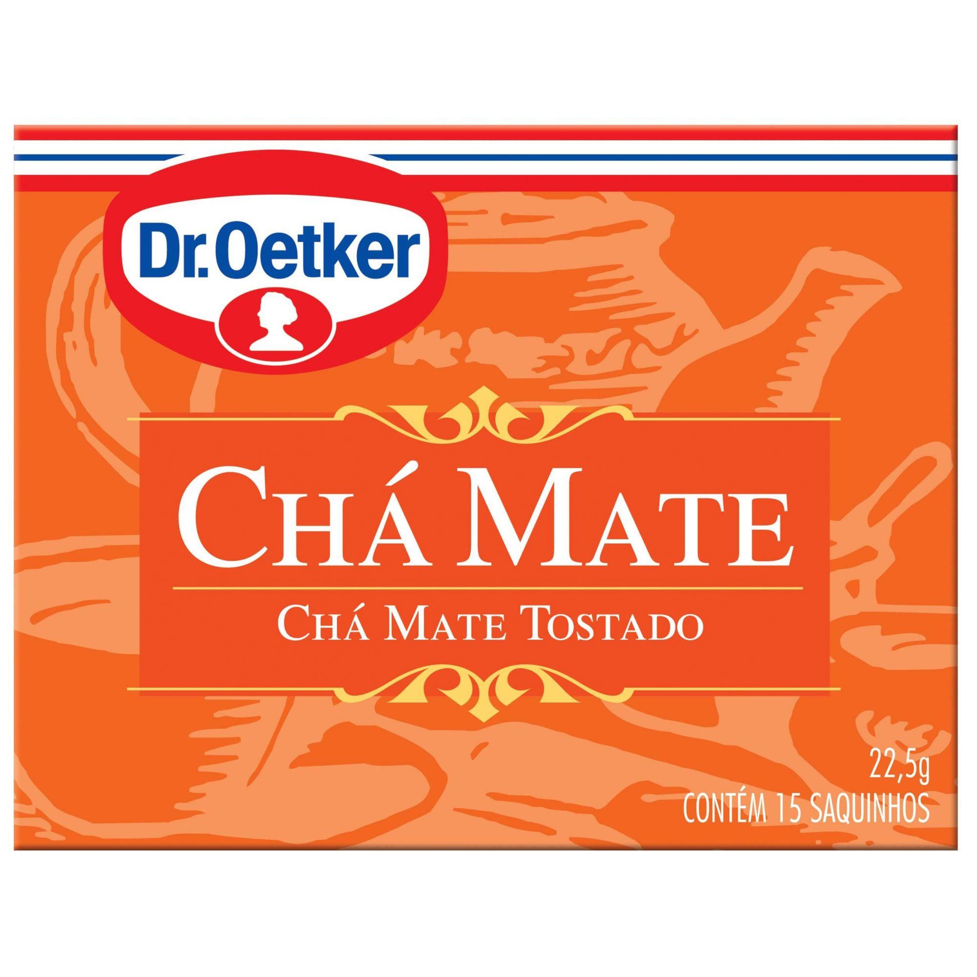 CHÁ MATE - DR. OETKER KIT  C/ 4 UNIDADES