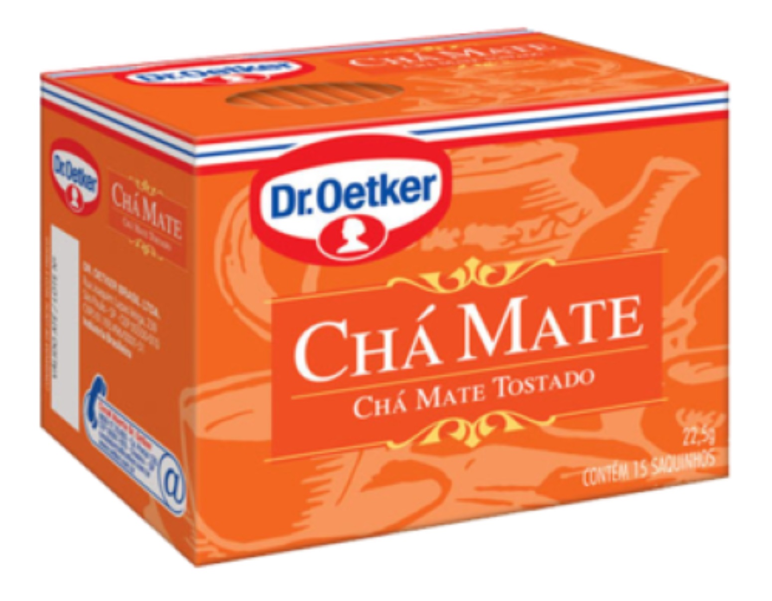 CHÁ MATE DR. OETKER KIT  C/ 4 UNIDADES