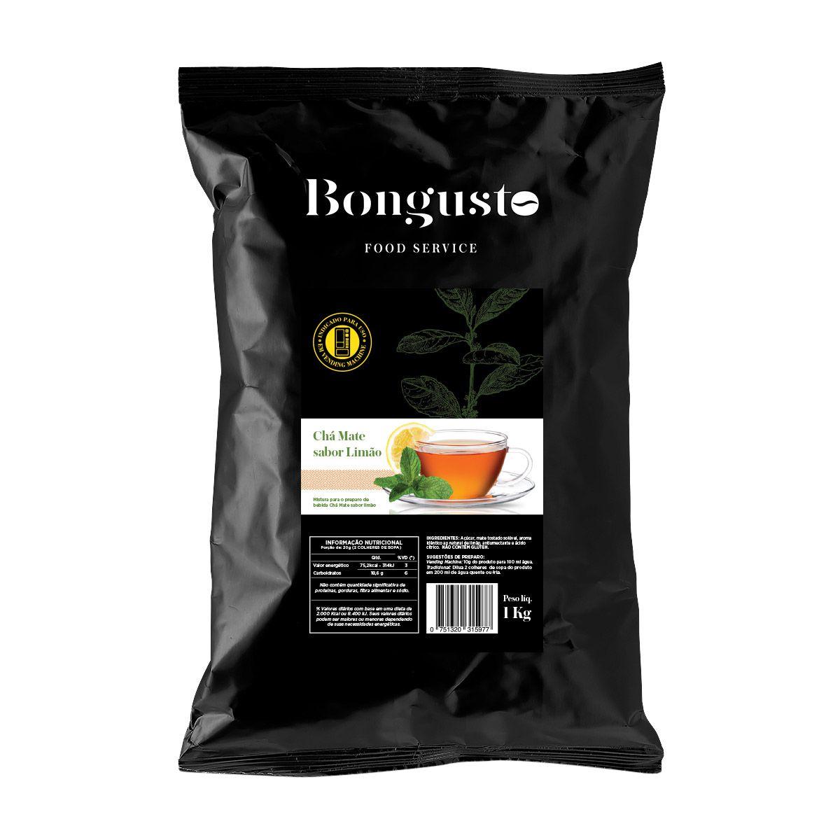 CHÁ MATE LIMÃO  1KG - BONGUSTO FOOD SERVICE