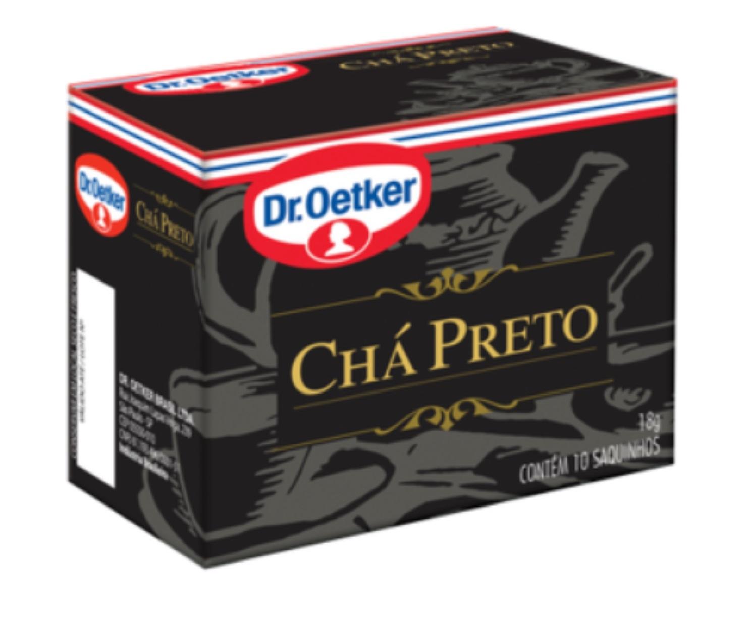CHÁ PRETO DR. OETKER
