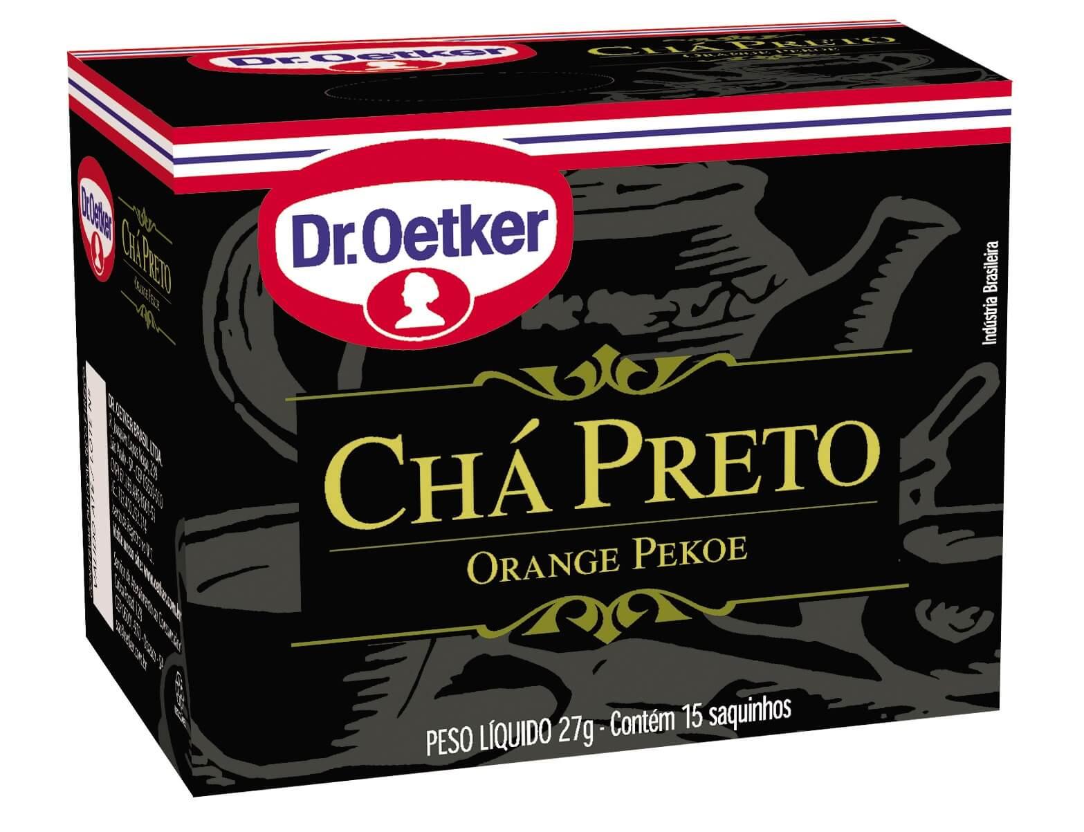 CHÁ PRETO - DR. OETKER