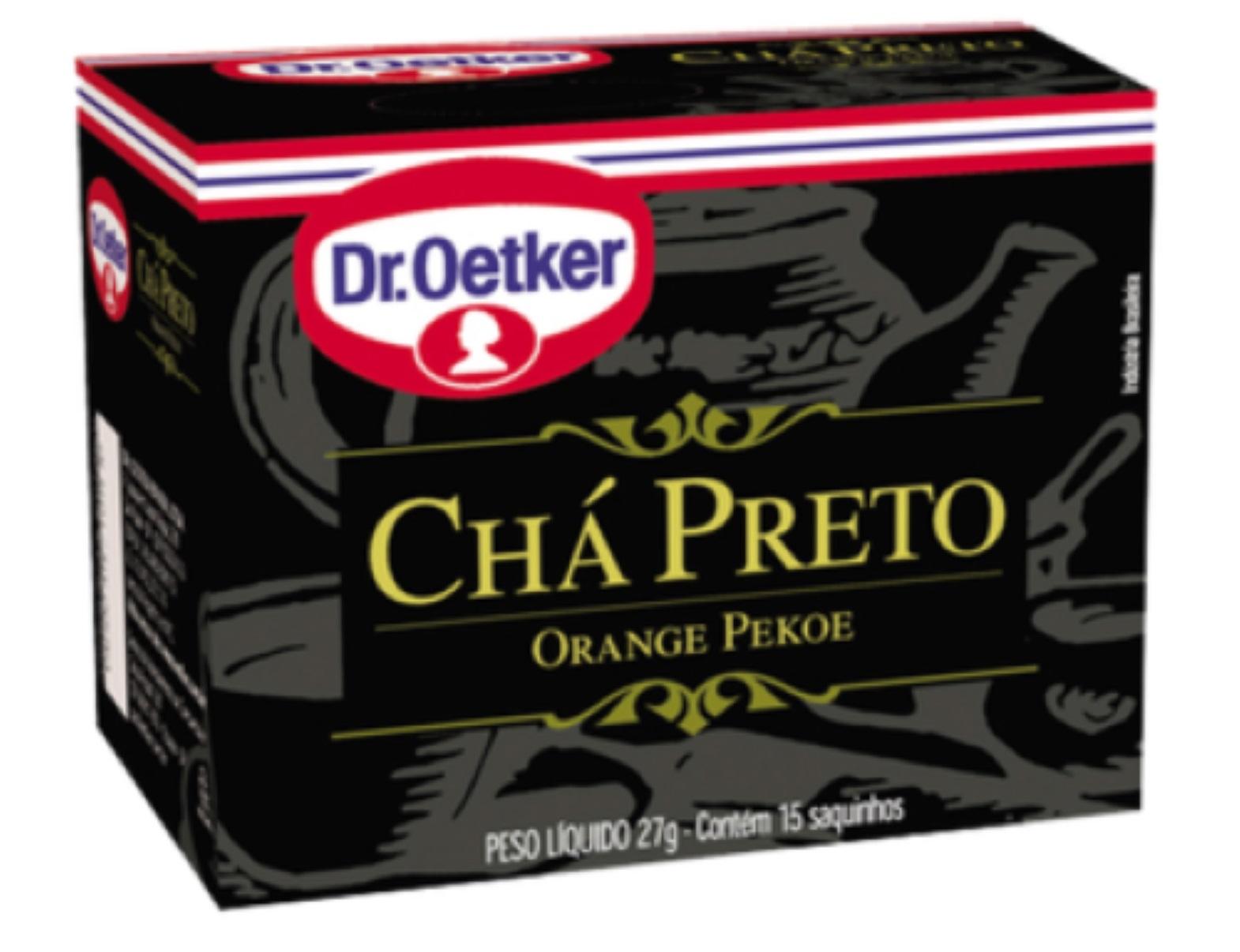 CHÁ PRETO DR. OETKER KIT COM 2 CAIXAS