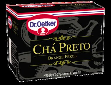 CHÁ PRETO DR. OETKER KIT COM 4 CAIXAS