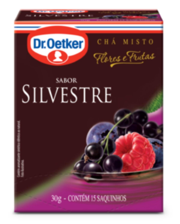 CHÁ SILVESTRE DR. OETKER KIT COM 4 CAIXAS