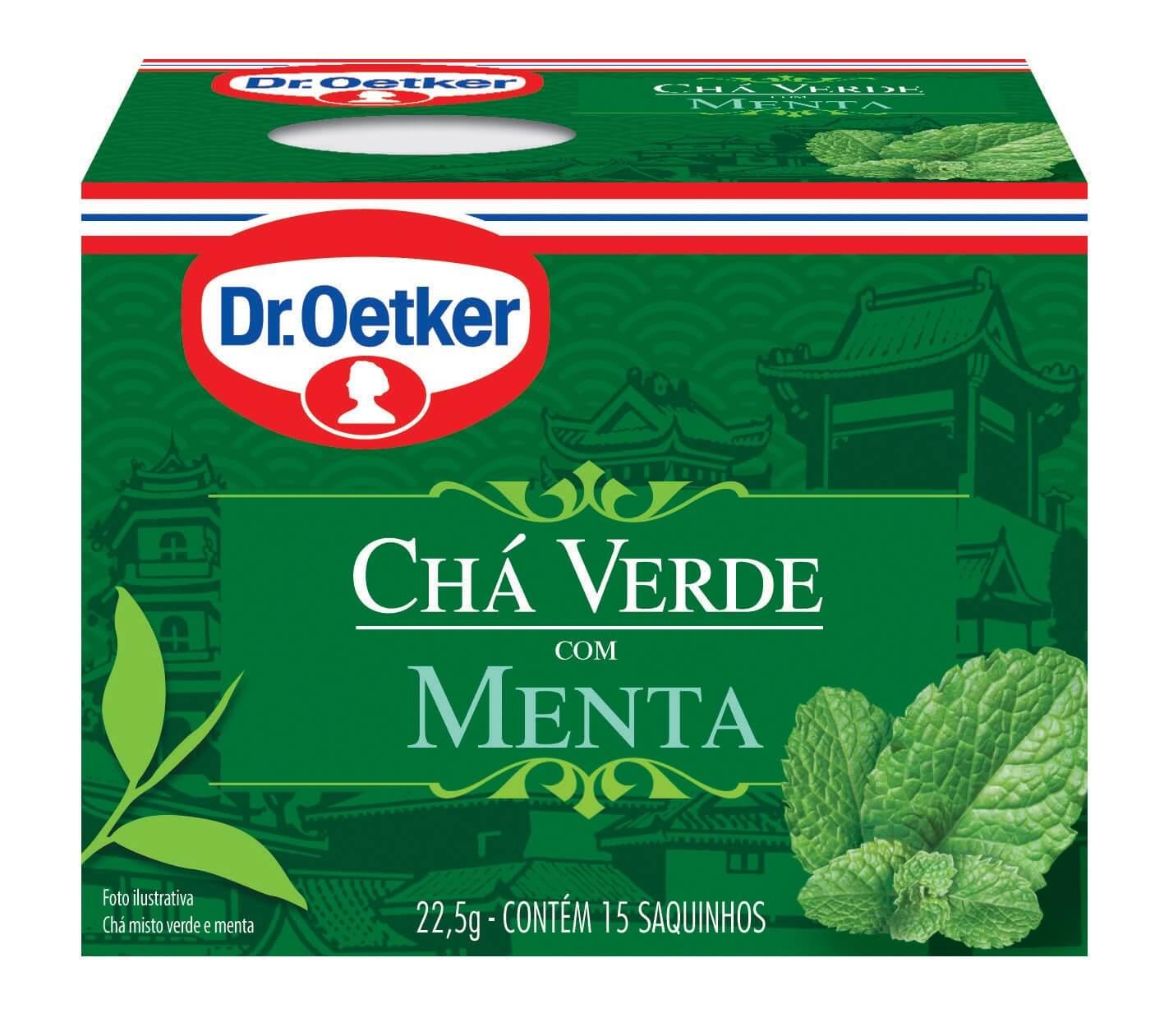 CHÁ VERDE COM MENTA - DR. OETKER