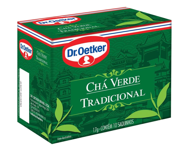 CHÁ VERDE - DR.OETKER KIT COM 4 CAIXAS DE SABORES DIFERENTES