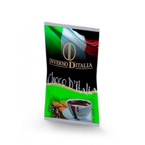 CHOCO D´ITÁLIA EMBALAGEM COM 50 SAQUINHOS DE 25 GRAMAS