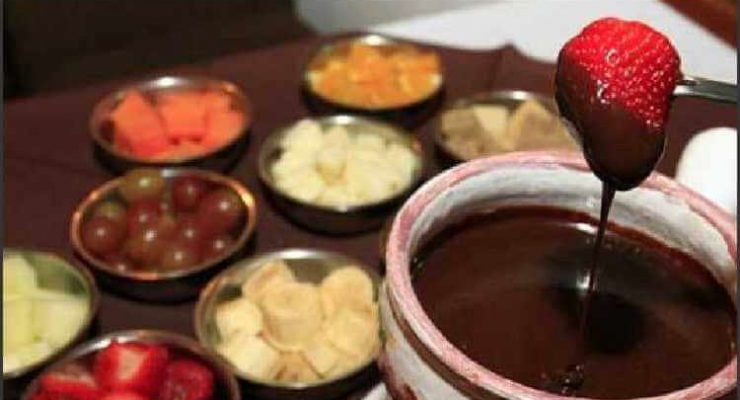 FONDUE CHOCOLATE - SUISSE CHOCOLATE