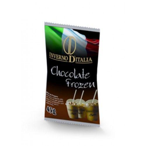 FROZEN CHOCOLATE EMBALAGEM COM 10 UN DE 45 GRAMAS