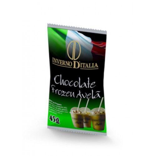 FROZEN CHOCOLATE E AVELÃ EMBALAGEM COM 10 UN DE 45 GRAMAS