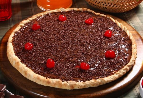 RECHEIO PARA PIZZA DE CHOCOLATE - CHOCON'UP